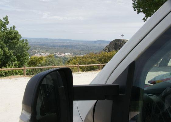 Wunderbare Aussicht auf dem Stellplatz in Marvao