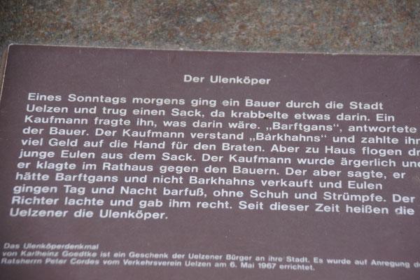 Die Geschichte der Bewohner von Uelzen