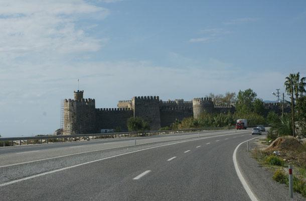 Die Festung beim Cap Anamur.