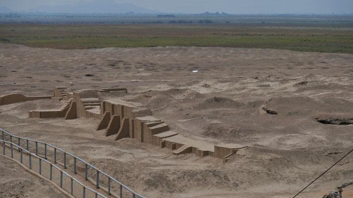 Die Ruine der spanischen Kirche.