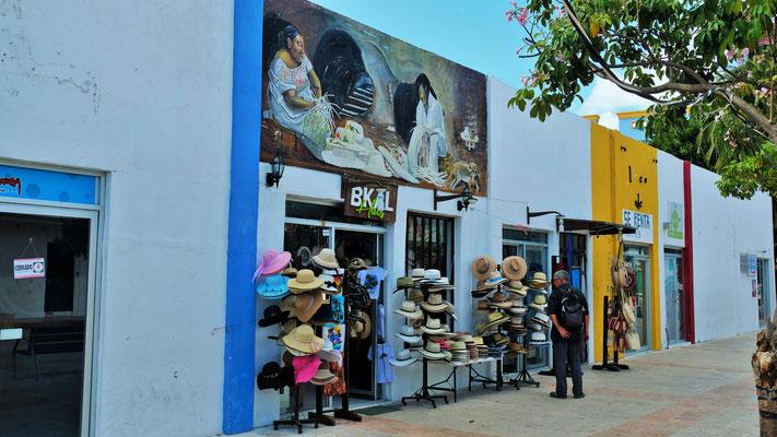 auch hier in Mexiko gibt es Hutmacher
