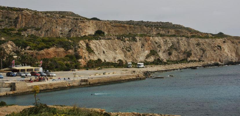 Hondog Bay von oben