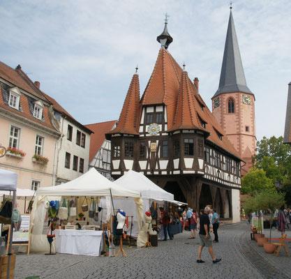 Das alte Rathaus in Michelstadt