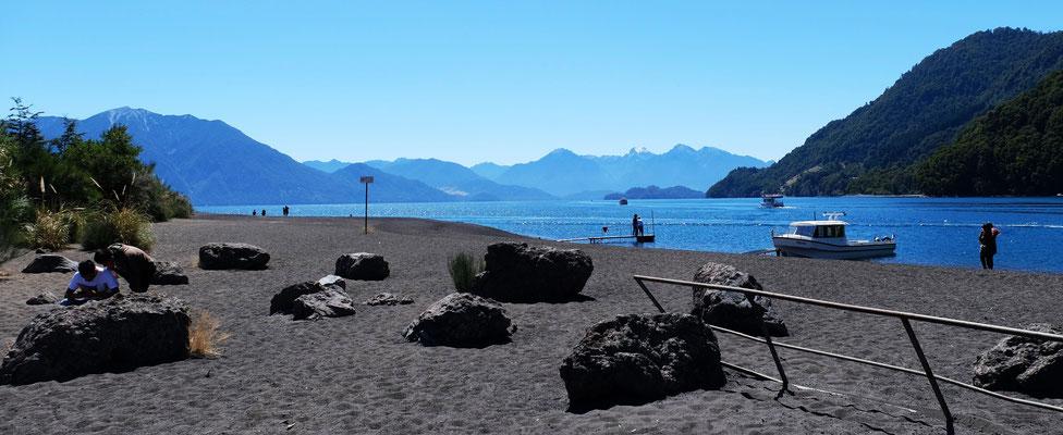 In Petrohue am Lago Todos Los Santos