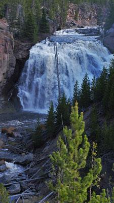 Die Wasserfälle rauschen
