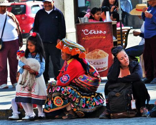 Wieder auf dem Plaza de Arma....