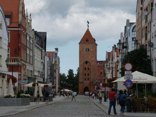 Das Markttor von Elblag