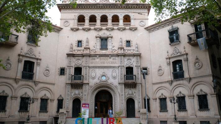 Eines der noch erhaltenen Gebäude