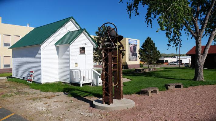 In Fort Pierre gibt es Museen, leider alle geschlossen