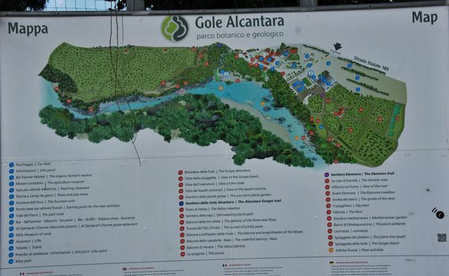 der Geologiepark Alcantara
