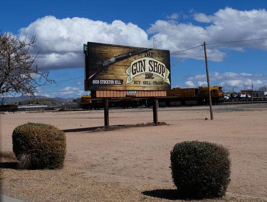 In Arizona ist das Waffen tragen öfffentlich gestattet