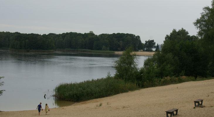 Vor unserem Campingplatz ist es ruhig.