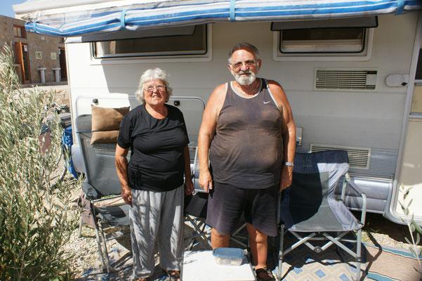Paul mit seiner Frau Anemie wissen sehr viel über Land und Leute