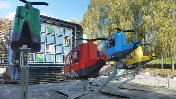 Helikopter Memory im Ravensburger Spieleland