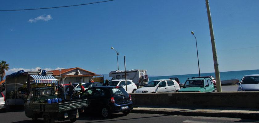 Haben uns unseren Platz in der ersten Reihe in Nizza di Sicilia wieder erobert.