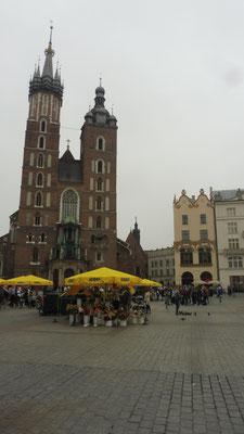 Die Kathedrale in Krakau