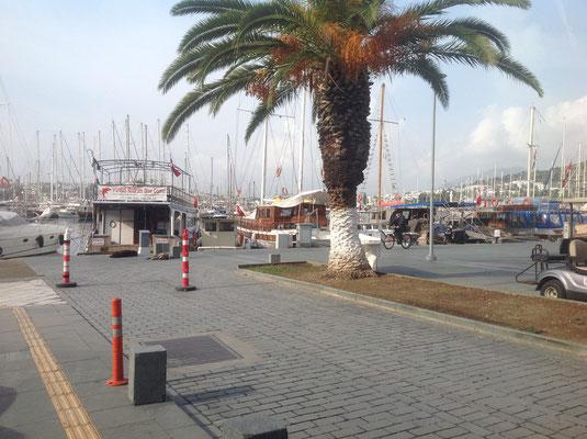 Auch hier gibt es einen Hafen