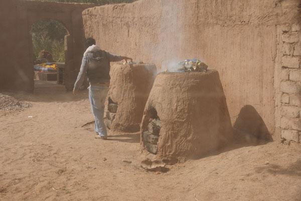 Kehrichtverbrennung auf Marokkanisch