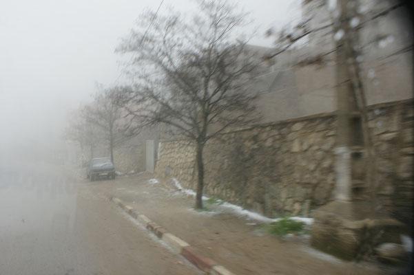 In Immouzer schneit's. Also nichts wie retour nach Fes