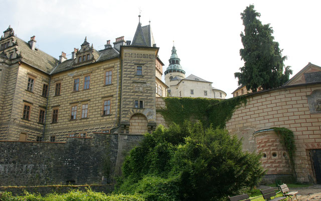 Wallensteins Burg ist bereits geschlossen