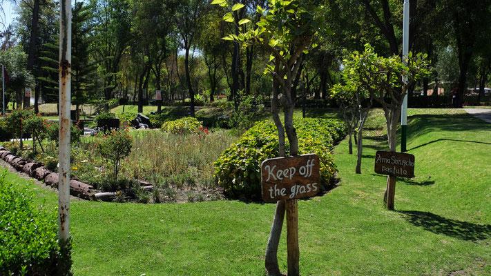 Strenge Regeln für das sehr saubere Arequipa