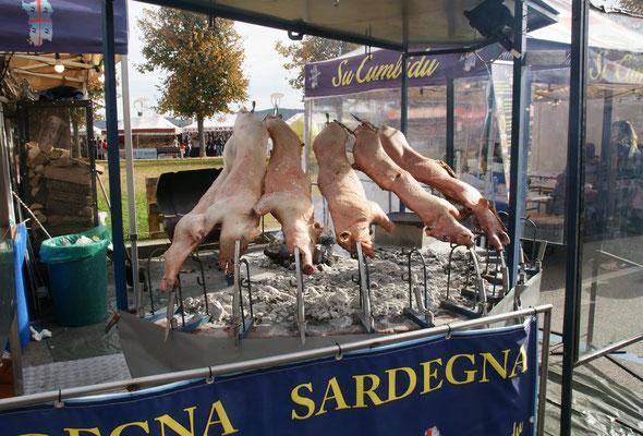 Sardinien bietet ebenfalls viel Fleisch an