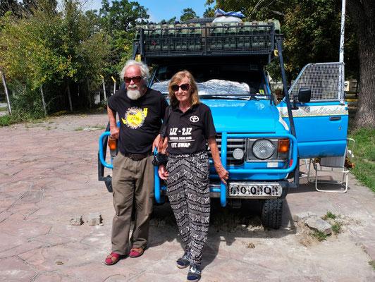 Die Weltrekord- Reisenden Liliane und Emil Schmid