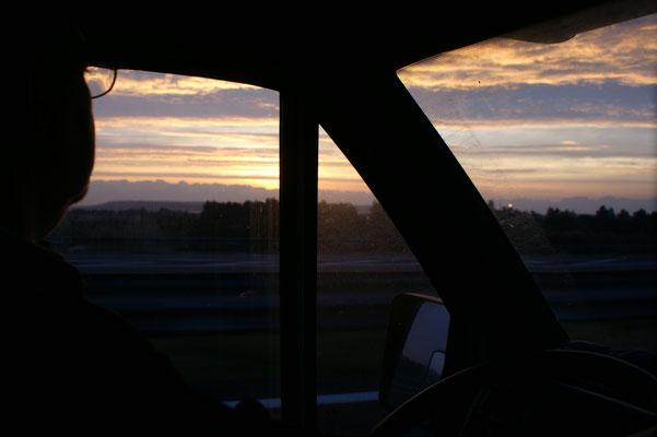 In Narbonne geht die Sonne auf