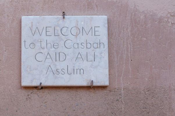 Die Kasbah ist im Familienbesitz der Campingbetreiber