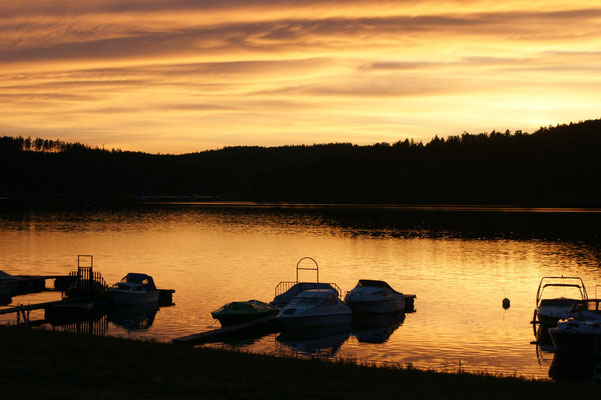 Herrlicher Sonnenuntergang und keine Mücken