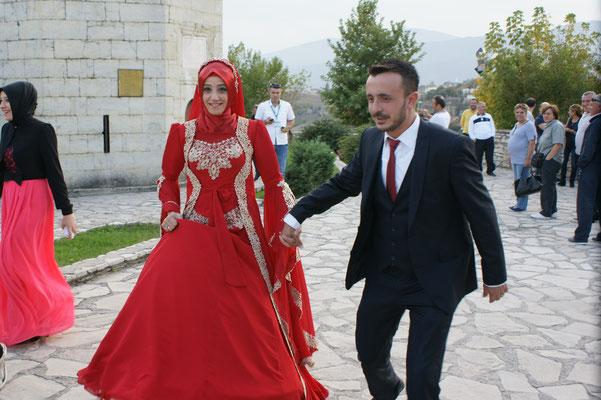 Diesmal Hochzeit ganz in Rot