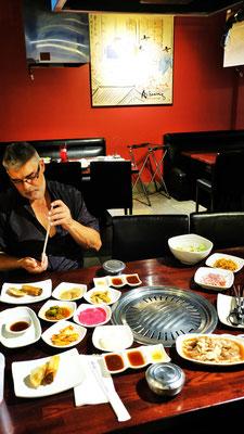 ....lunchen wir beim Koreaner.