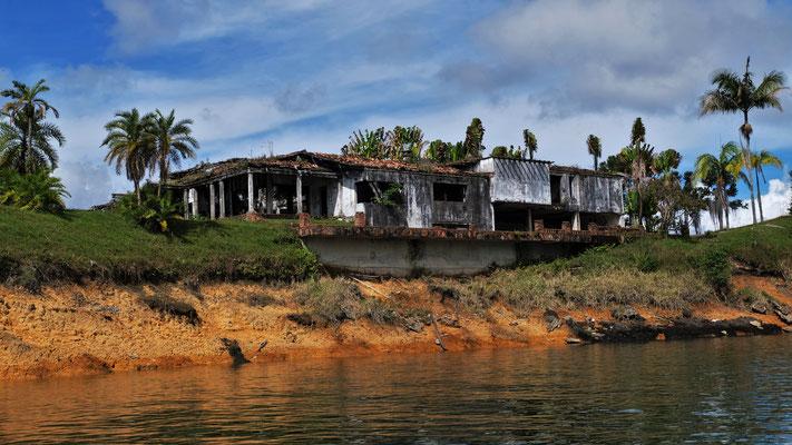 Ehemalige Villa von Pablo Escobar