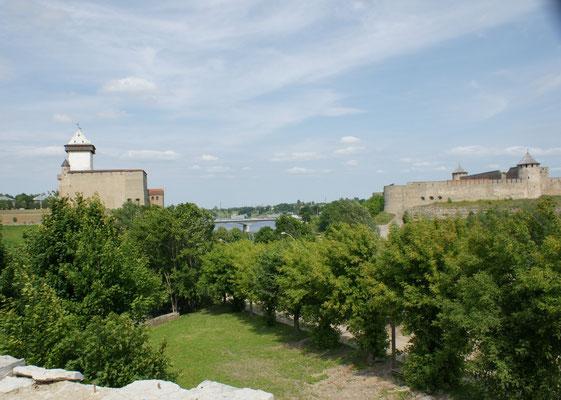 Die Festung der Russen ist viel, viel grösser
