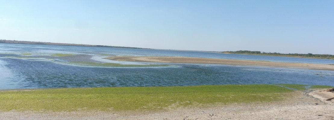 Blick auf den kleineren Teil des Sees
