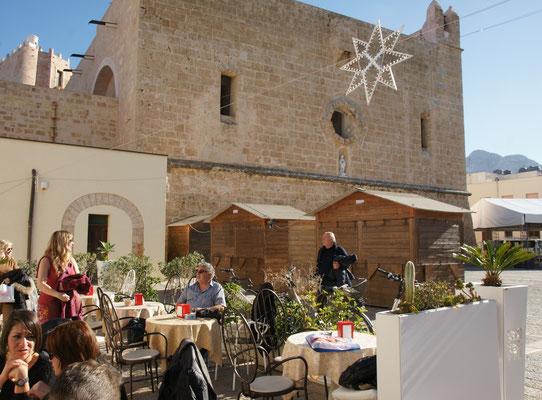 Der Marktplatz von San Vito lo Capo