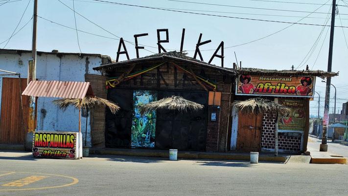 Wir sind in Afrika