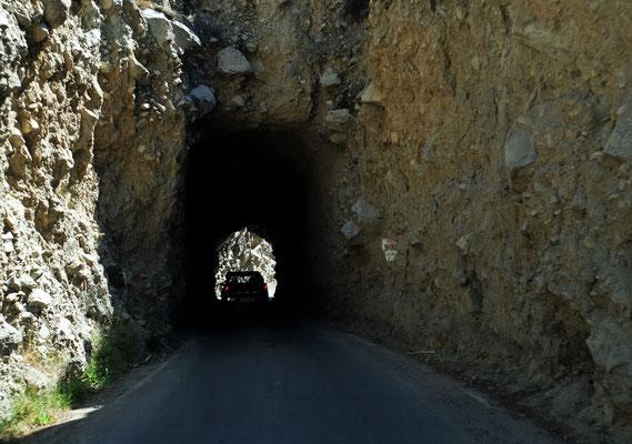 kurze Tunnels