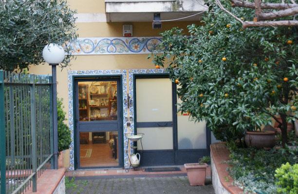 Keramikladen in Ali Terme