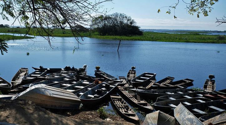 Wir schlendern entlang des Rio Paraguay