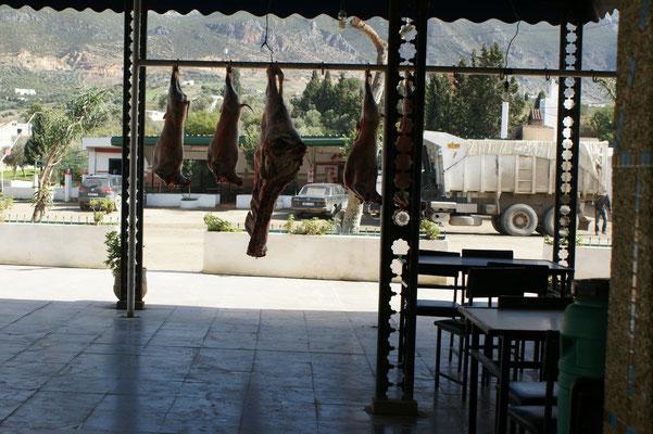 Restaurant auf marokanisch