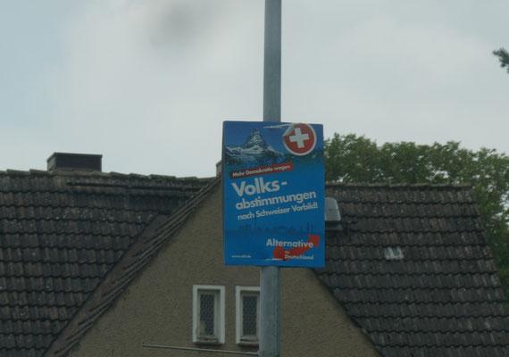 """""""Guck mal das Matterhorn als Wahlplakat"""""""