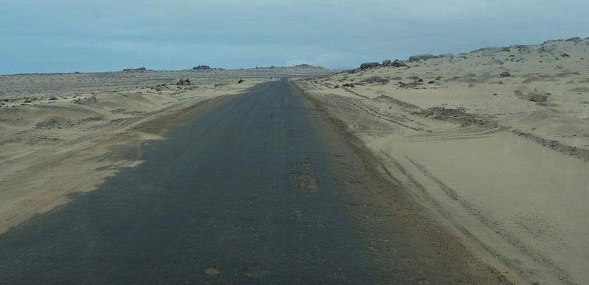 Sand so weit das Auge blickt