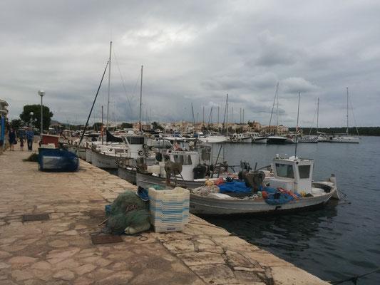 Am Hafen in Portocolom