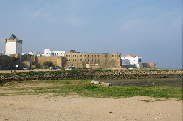 Die Medina mit dem Palast der Tränen im Hintergrund