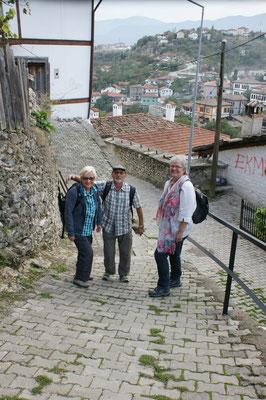 Abstieg ins Dorf