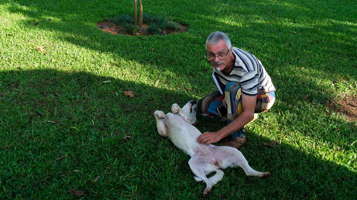 Tschüss Bruno und Lola. Renate musste leider schon weg und ist fotografisch deshalb nicht festgehalten