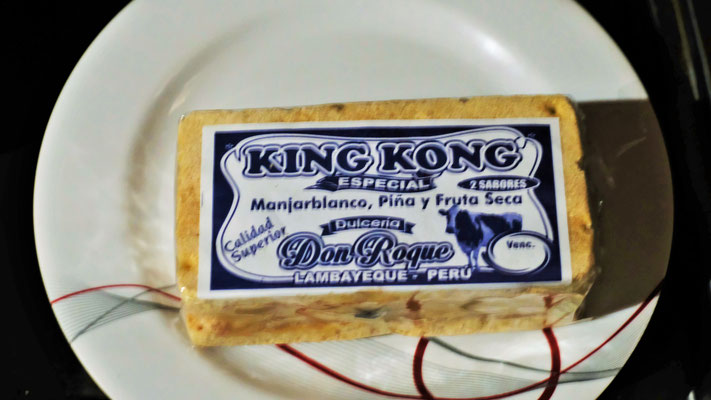 ..... King Kong, sehr süss und sehr trocken