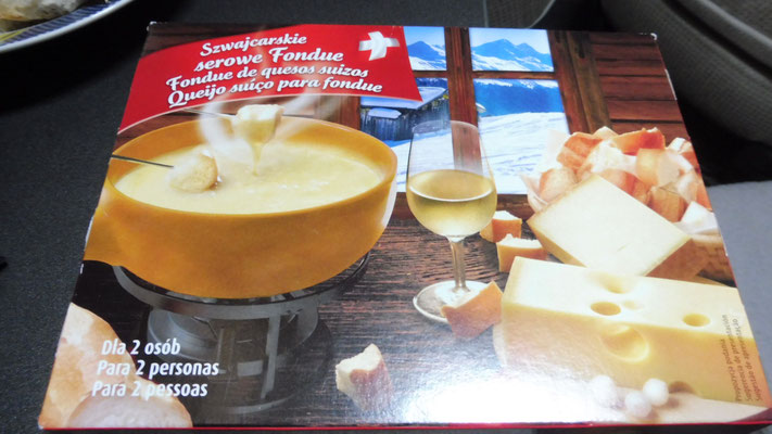 Fondue vom Aldi in Portugal....
