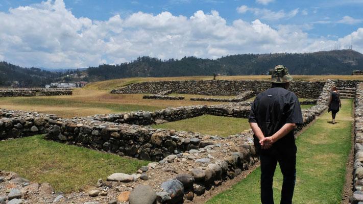 ...wo es nur noch wenige alte Mauern zu sehen gibt.